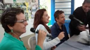 Visita à rádio 02